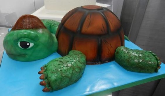 Turtle Cake by @Carlo's Bakery