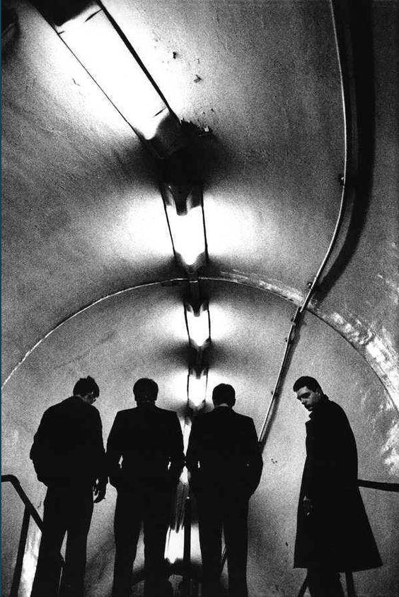 Joy Division photographed by Anton Corbijn