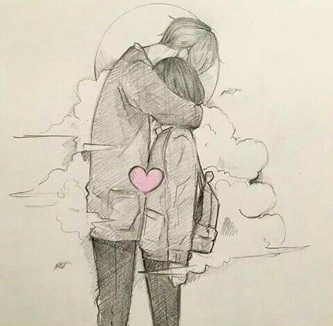 Soyle Sarilsaydim Keske Sana Desenhos Romanticos Tumblr