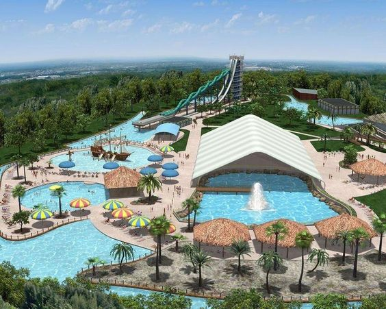 Schlitterbahn Galveston Island Waterpark Eyes March