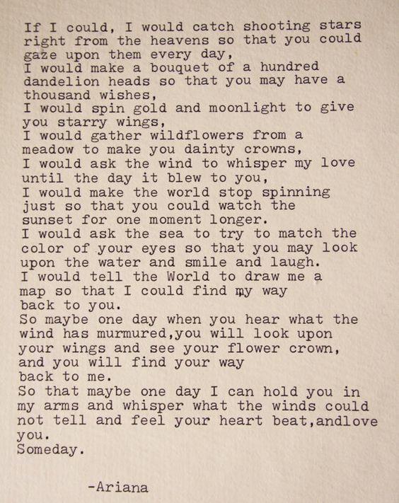 Love Poem Romantic Poem Love Note Love Letter Original