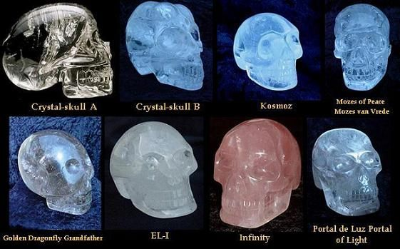 The Crystal Skulls are considered to be one of the most intriguing mysteries: