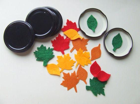 őszi játékötlet óvodásoknak