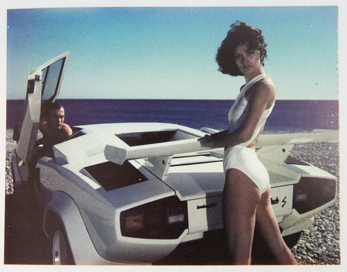 Nice, 1980's Helmut Newton Polaroids