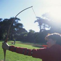 Instinctive archers use no sighting apparatus.