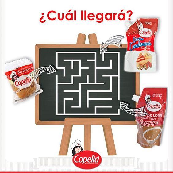 ¿Cuál dulce es el que va por el camino correcto? DiviérteteConCopelia www.alimentoscopelia.com