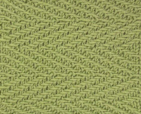 Transverse Cowl Knitting Pattern : Woven Transverse Herringbone stitch can be found in the Bobbles & Slip St...