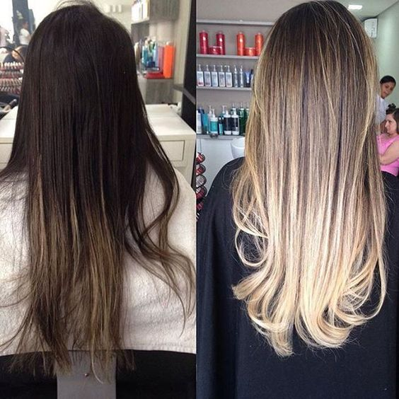 Going.. Going... BLONDE! We love this stunning color correction with # ...