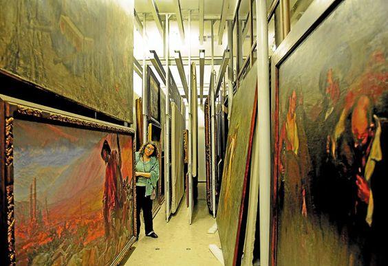 El Bellas Artes que no se ve: en la reserva hay más de 10 mil obras El museo tiene las colecciones más importantes del país, pero sólo exhibe el 10%. Una recorrida por las diferentes áreas para ver el trabajo puertas adentro.