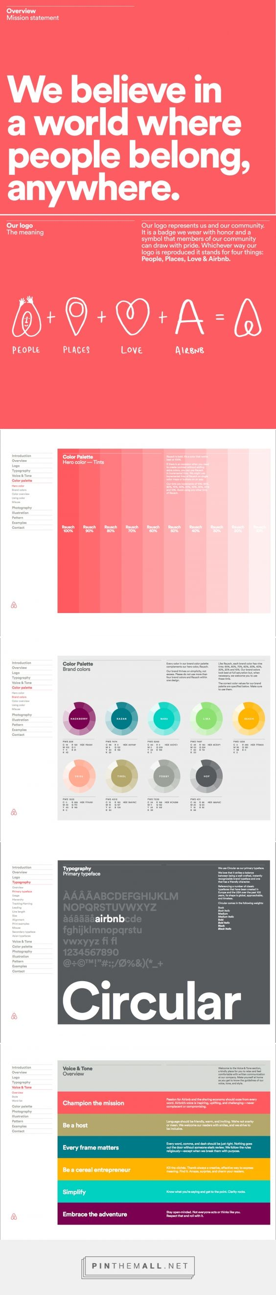 Design Practice: OUGD503: Airbnb Brand Guidelines - created via https://pinthemall.net