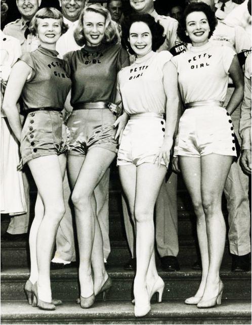 """George Petty Girls"" 1950's"
