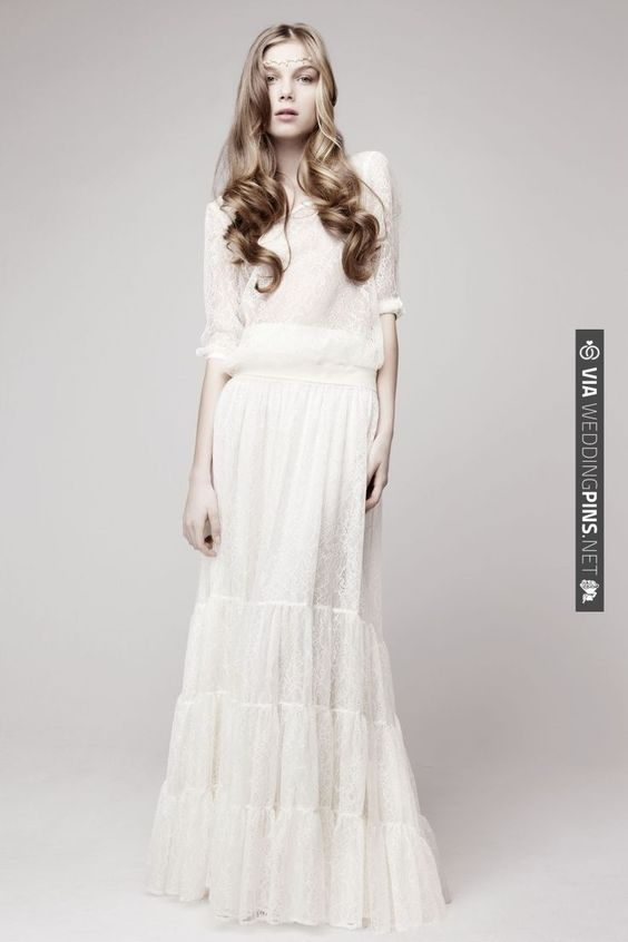 Otaduy Wedding Gown. Ahh I love this one so much!! | CHECK OUT MORE IDEAS AT WEDDINGPINS.NET | #weddingfashion