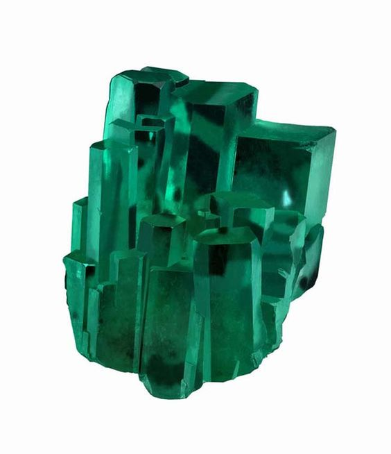 "39.01-carat natural emerald crystal ""Emerald City""  specimen from Robert Procop's emerald tour"