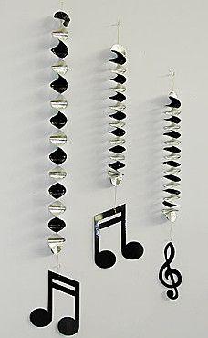 guirlande note de musique