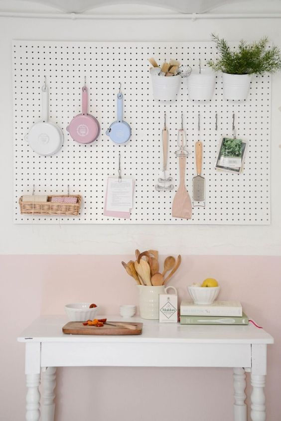 Maximising Space in Tiny Kitchens · Via www.sweethings.net