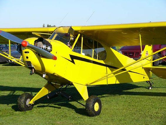 PiperJ-3Cub la primera avioneta de Piper