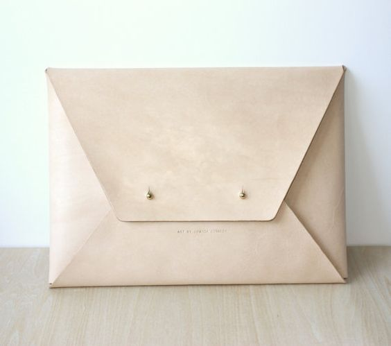 LOVE my Personalised Envelope Leather Folio / by TheLeatherCollective
