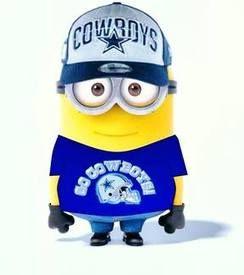 Cowboys minion - sz | Texas | Pinterest | Dallas cowboys ...