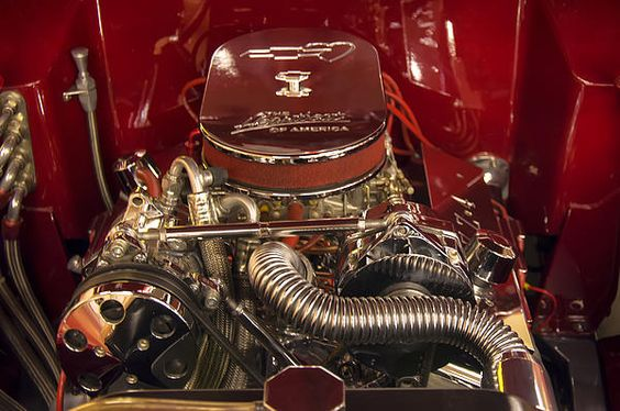Zz4 350 Small Block Chevy Motor by Chris Flees