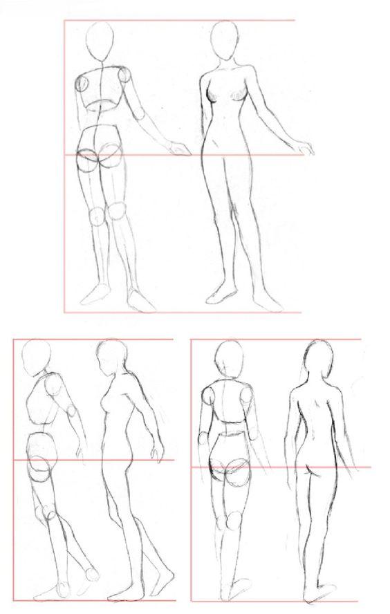 Desenhando o corpo | DESENHOS REALISTAS (Realistic Drawings)