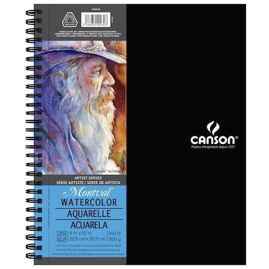 Canson Montval Artist Series Watercolor Pad Watercolor Books