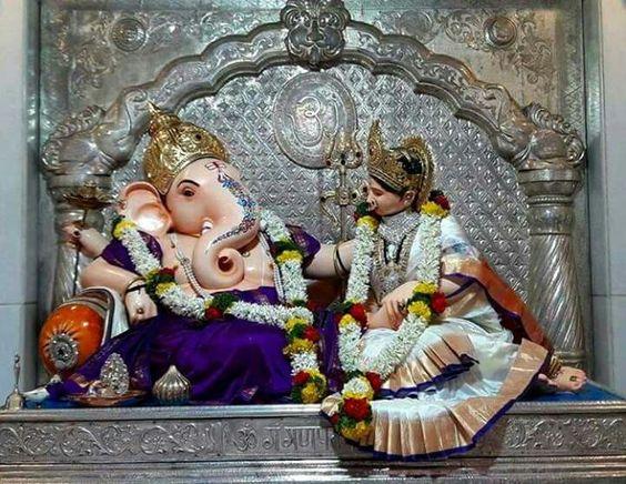 Gouri and Ganpati