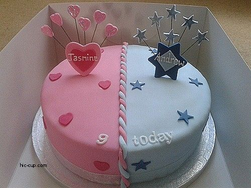 Image Result For Cakes For Twin Boy And Girl 5years With Images