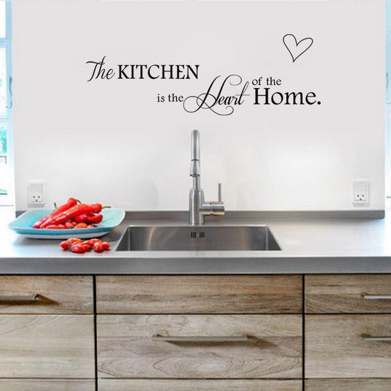 Goedkope keuken stickers home decoratie muursticker muur ...
