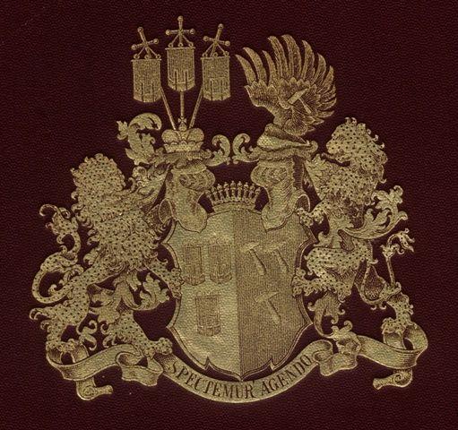 Wappen der Familie von Hammerstein / Coat of Arms of The Family von Hammerstein / Armas de la Familia von Hammerstein
