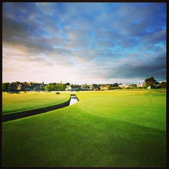 Golf in St Andrews - Photo by ricohwomensbritishopen