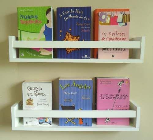 Prateleira Decorativa Livros Infantil U 60 L X 11,5 A X 10 P - R$ 49,90:
