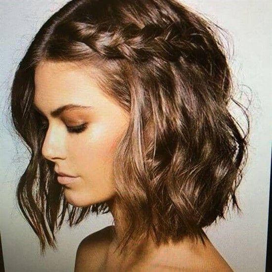 27 Zopf Frisuren Fur Kurzes Haar Die Einfach Schon Sind Frisuren 2019 Bob Frisur Zopf Bob Haarschnitt Stylen Geflochtene Frisuren Fur Kurze Haare