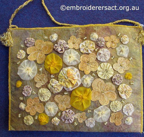 De colores de oro bolsa de Hombro Por Joyce Semanas