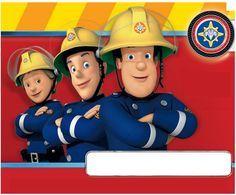 Une carte d'anniversaire Sam le Pompier