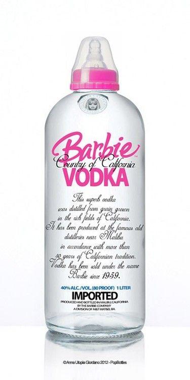 Vodka de Barbie