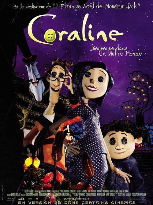 Watch Coraline 2009 Full Movie Online Coraline Film Coraline Movie Coraline