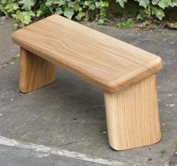 Yoga stool Seiza bench Meditation stool by Fraximus on Etsy