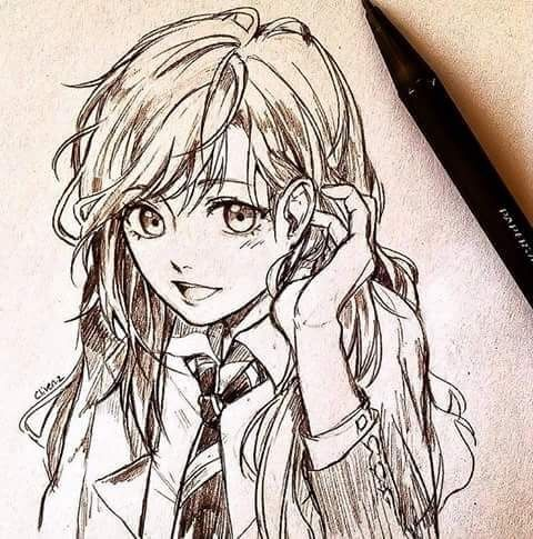 Pin By Faker On Anime Sketch Anime Drawings Sketches Anime Sketch Anime Drawings