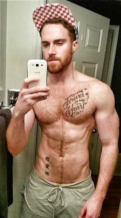Pale redhead tatoo big ass