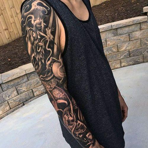 30 Awesome Dragon Tattoo Designs Cuded Dragon Tattoo Wrapped Around Arm Dragon Hand Tattoo Around Arm Tattoo