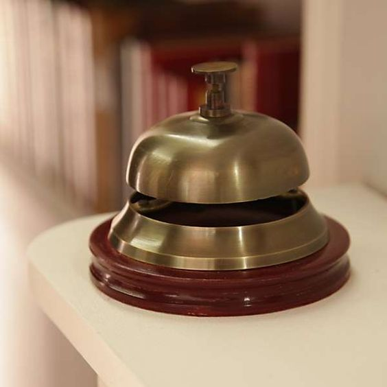 Antique Finish Service Bell