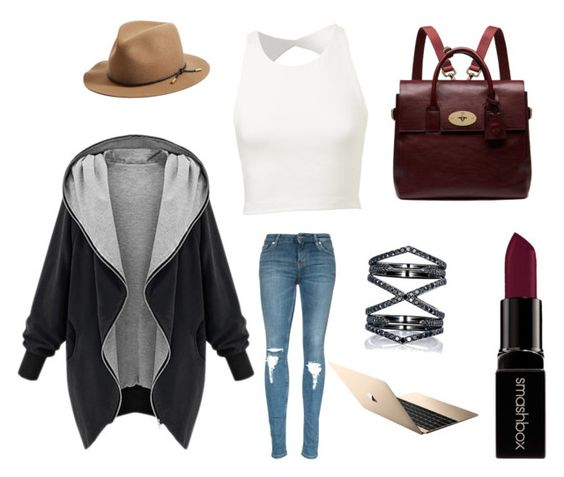 """Too cool for school"" by aninda93 on Polyvore featuring Mulberry, Eva Fehren, rag & bone, Smashbox, women's clothing, women's fashion, women, female, woman and misses"