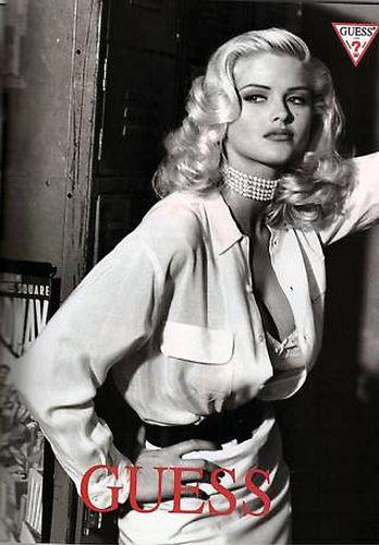 Anna Nicole Smith for Guess by FrancescoScavullo