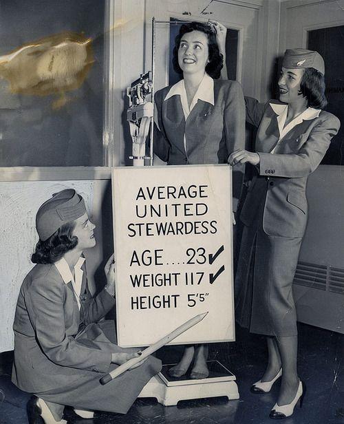 United Airlines Stewardesses 1948 Was Always My Dream