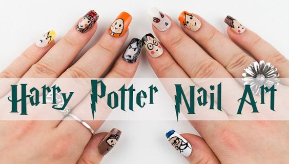 25 Gloriously Geeky Nail Art Tutorials