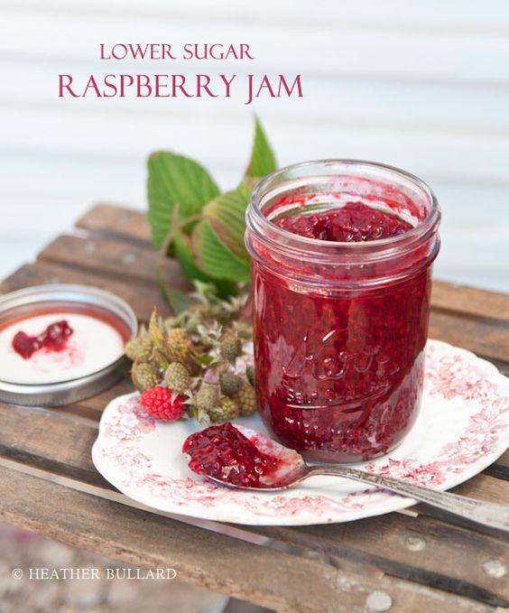 Raspberries, Low sugar and Sugar on Pinterest