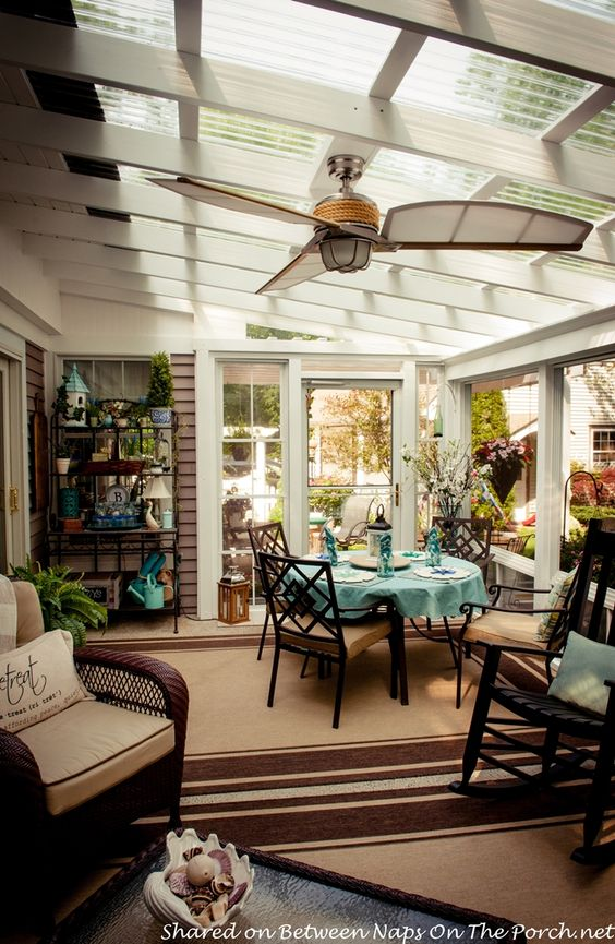 Porches patio and a beautiful on pinterest for 2 season porch