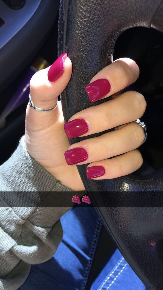 Shop For Nail Polish And Nail Care Products Indulge In The Latest Nail Trends From Top Brands Once Opi Essie Dark Pink Nails Red Gel Nails Fall Acrylic Nails