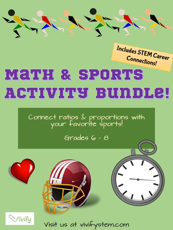 math and sports activity bundle ratios and proportions math activities and middle school. Black Bedroom Furniture Sets. Home Design Ideas