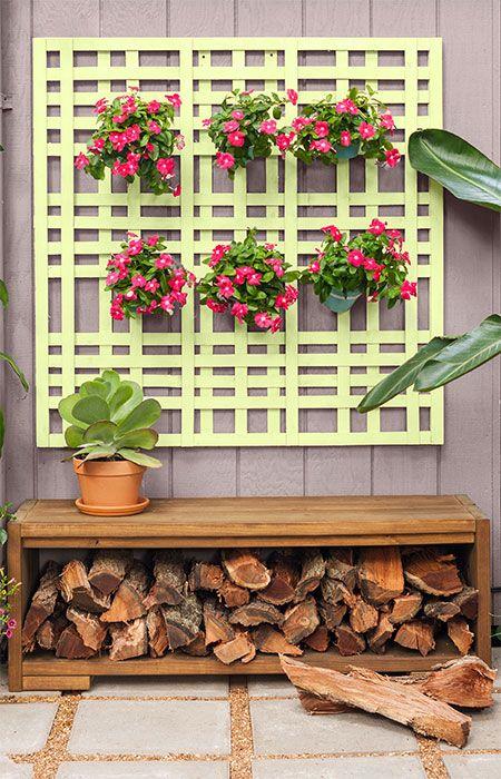 table as a firewood rack #fireWoodStorage #firewoodrack #firewood #firewoodideas #organization #outdoorFurniture #backyardFurniture #patioFurniture